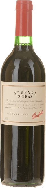 PENFOLDS St. Henri Shiraz, South Australia 1998