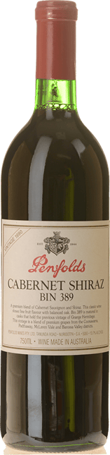 PENFOLDS Bin 389 Cabernet Shiraz, South Australia 1990