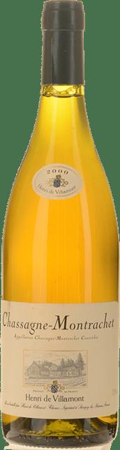 DOMAINE HENRI DE VILLAMONT Blanc, Chassagne-Montrachet 2000