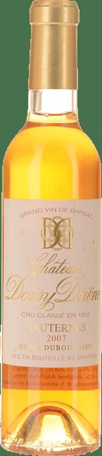 CHATEAU DOISY-DAENE 2me cru classe, Sauternes-Barsac 2007