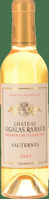 CHATEAU SIGALAS-RABAUD 1er cru classe, Sauternes 2009
