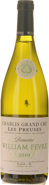WILLIAM FEVRE Les Preuses Grands cru, Chablis 2010
