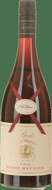 BEST'S WINES Old Vine Great Western Pinot Meunier, Great Western 2016
