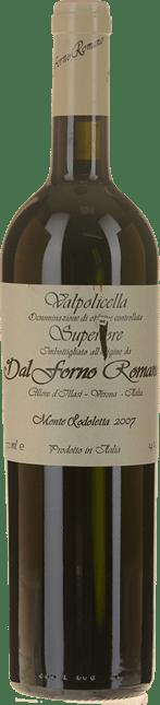 DAL FORNO ROMANO Vigneto di Monte Lodoletta, Valpolicella Superiore 2007