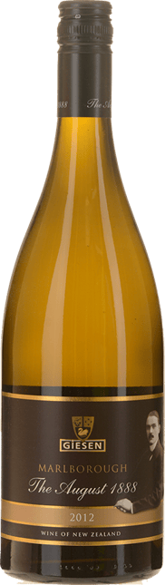GIESEN ESTATE WINES The August 1888 Sauvignon Blanc, Marlborough 2012