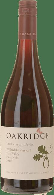 OAKRIDGE WINES Local Vineyard Series Willowlake Vineyard Pinot Noir, Yarra Valley 2016