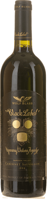 WOLF BLASS WINES Black Label, South Australia 1998