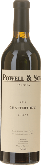 POWELL AND SON Chatterton's Shiraz, Barossa 2017