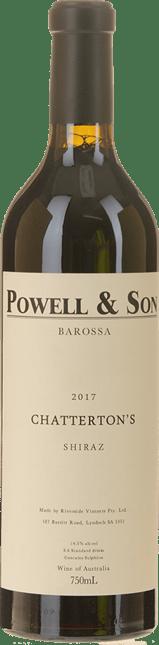 POWELL AND SON Chatterton's Shiraz, Barossa 2017