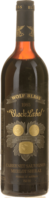 WOLF BLASS WINES Black Label, South Australia 1985