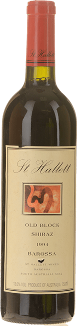ST HALLETT Old Block Shiraz, Barossa 1994