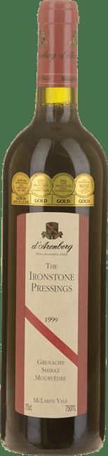 D'ARENBERG WINES The Ironstone Pressings Grenache Shiraz Mourvedre, McLaren Vale 1999