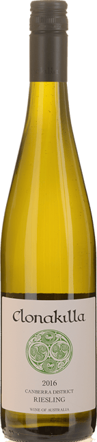 CLONAKILLA Riesling, Canberra District 2016