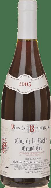 GEORGES LIGNIER & FILS Grand Cru, Clos de la Roche 2005