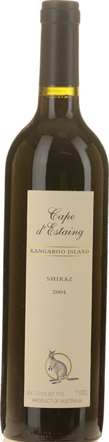 CAPE D'ESTAING Shiraz, Kangaroo Island 2004
