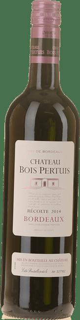 CHATEAU BOIS PERTUIS, Bordeaux 2014