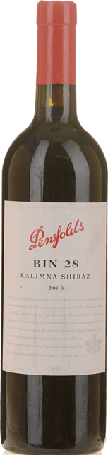 PENFOLDS Kalimna Bin 28 Shiraz, South Australia 2003