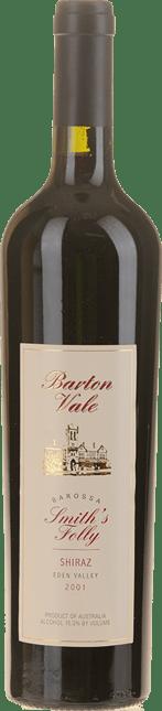 BARTON VALE VINEYARDS Smith's Folly Shiraz, Eden Valley 2001