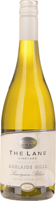 THE LANE VINEYARD Sauvignon Blanc, Adelaide Hills 2018
