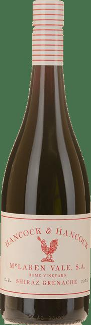 HANCOCK & HANCOCK WINES Home Vineyard Shiraz Grenache, McLaren Vale 2016