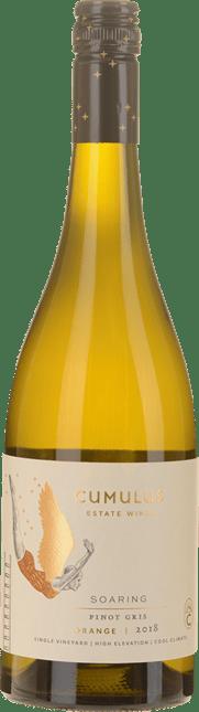 CUMULUS WINES Soaring Pinot Gris, Orange 2018