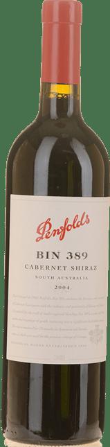 PENFOLDS Bin 389 Cabernet Shiraz, South Australia 2004