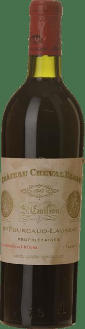 CHATEAU CHEVAL BLANC 1er grand cru classe (A), St-Emilion 1947