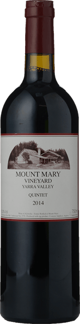 MOUNT MARY Quintet Cabernet Blend, Yarra Valley 2014