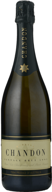 CHANDON AUSTRALIA Vintage Brut Chardonnay Pinot Meunier Pinot Noir, Australia 1995