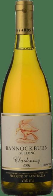 BANNOCKBURN VINEYARDS Chardonnay, Geelong 1994