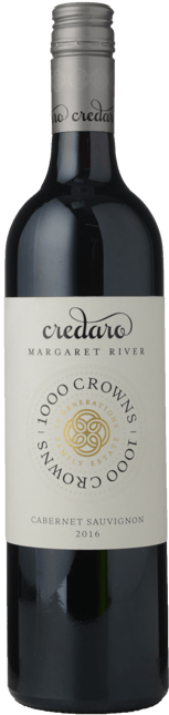 CREDARO WINES 1000 Crowns Cabernet Sauvignon, Margaret River 2016