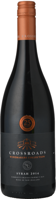 CROSSROADS WINERY Winemakers Collection Syrah, Hawkes Bay 2014