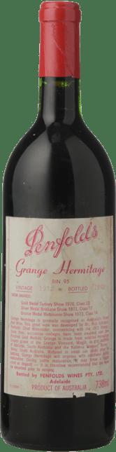 PENFOLDS Bin 95 Grange Shiraz, South Australia 1972