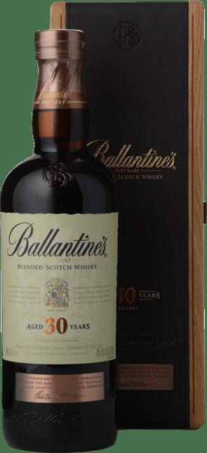 BALLANTINE'S 30 Year Old Very Rare Blended Scotch Whisky 40% ABV, Scotland NV