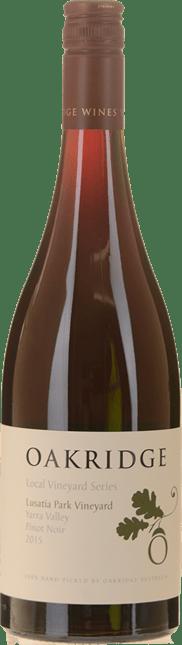 OAKRIDGE ESTATE Local Vineyard Series Lusatia Park Vineyard Pinot Noir, Yarra Valley 2015