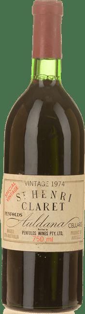PENFOLDS St. Henri Shiraz, South Australia 1974