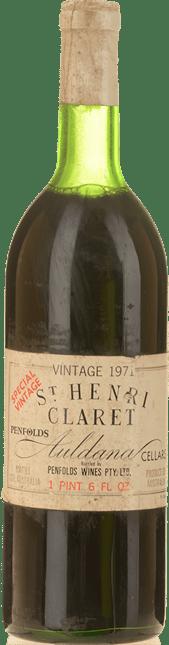 PENFOLDS St. Henri Shiraz, South Australia 1971