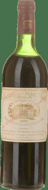 CHATEAU MARGAUX 1er cru classe, Margaux 1982