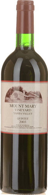 MOUNT MARY Quintet Cabernet Blend, Yarra Valley 2003