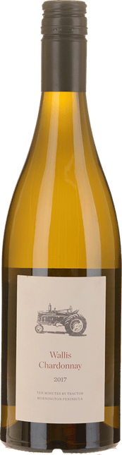 TEN MINUTES BY TRACTOR Wallis Vineyard Chardonnay, Mornington Peninsula 2017