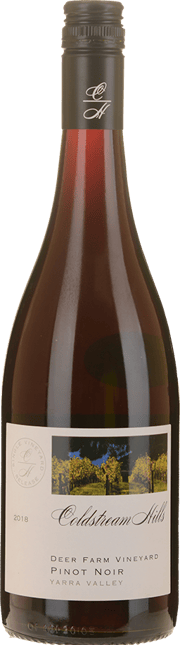 COLDSTREAM HILLS Deer Farm Vineyard Pinot Noir, Yarra Valley 2018