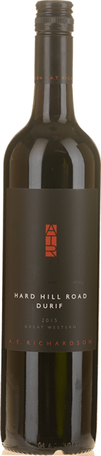 A.T.RICHARDSON WINES Hard Hill Road Durif, Great Western 2015