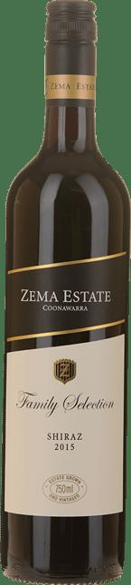 ZEMA ESTATE Family Selection Shiraz, Coonawarra 2015