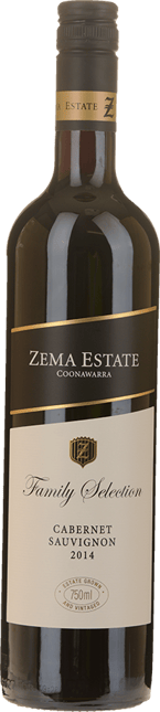 ZEMA ESTATE Family Selection Cabernet Sauvignon, Coonawarra 2014