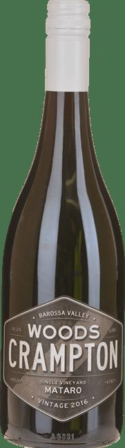 WOODS CRAMPTON Old Vine Mataro, Barossa Valley 2016