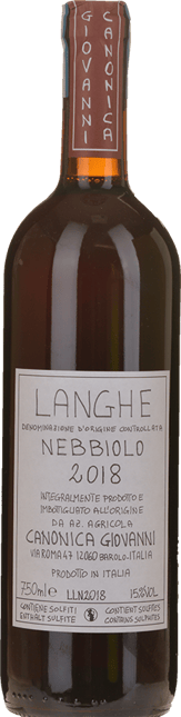 GIOVANNI CANONICA, Langhe DOC 2018