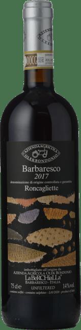 OLEK BONDONIO Roncagliette, Barbaresco 2017
