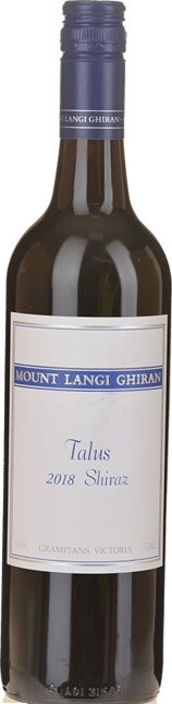 MOUNT LANGI GHIRAN VINEYARDS Talus Shiraz, Grampians 2018