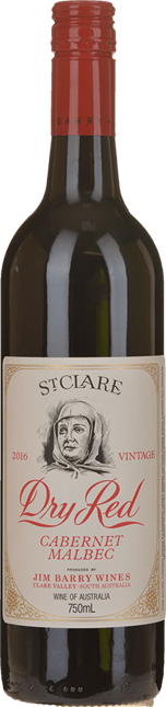 JIM BARRY WINES St Clare Dry Red Cabernet Malbec, Clare Valley 2016
