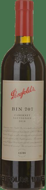 PENFOLDS Bin 707 Cabernet Sauvignon, South Australia 2018